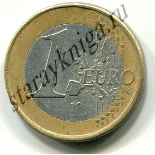 Один евро Нидерланды 1999